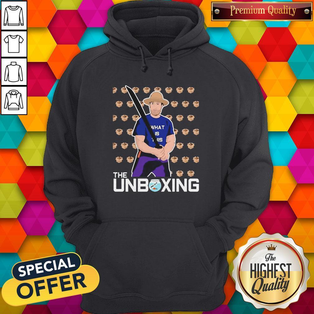 Nice Barstool Sport The Unboxing David Portnoy Hoodie