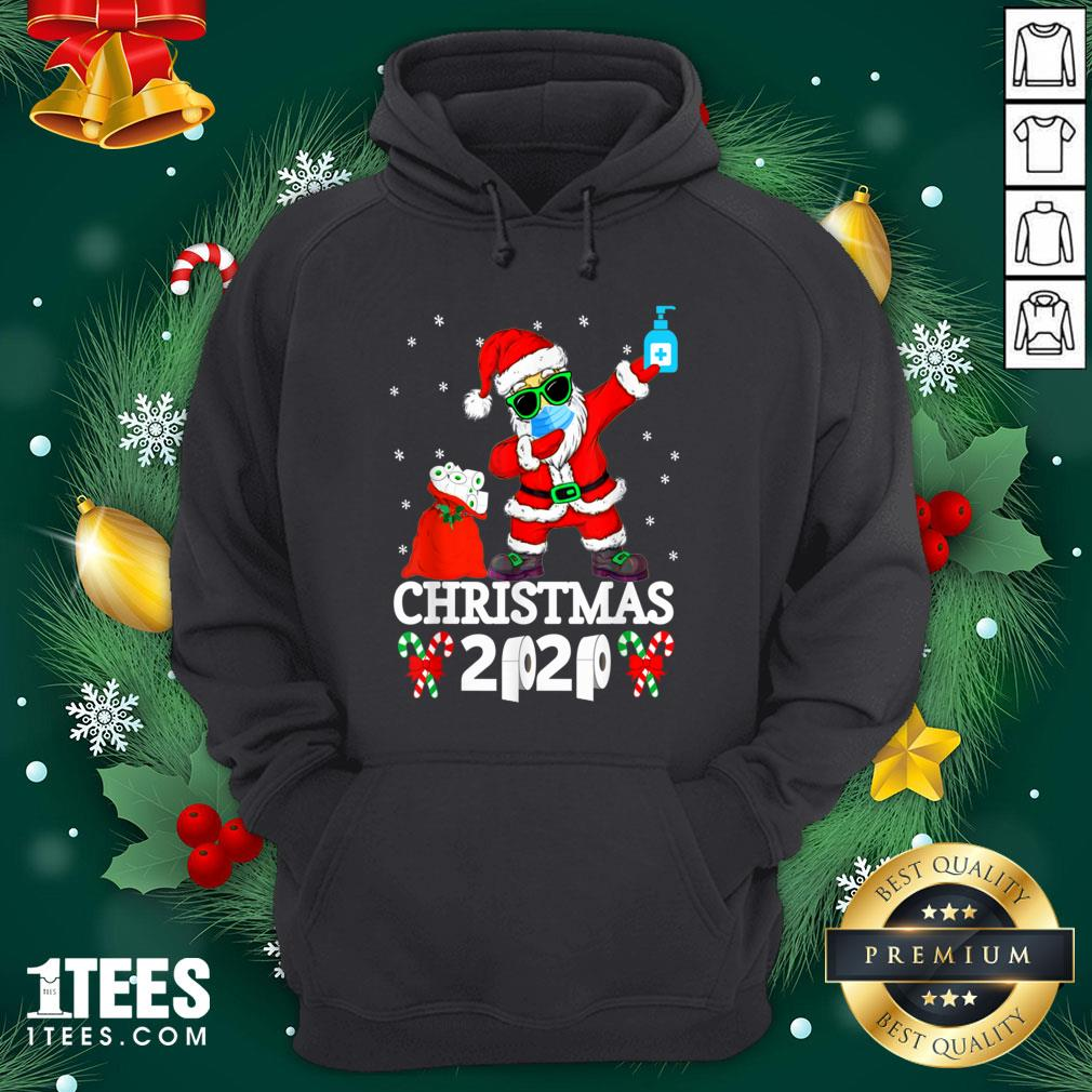 Cool Santa Dabbing Christmas 2020 Hoodie - Design By 1tee.com