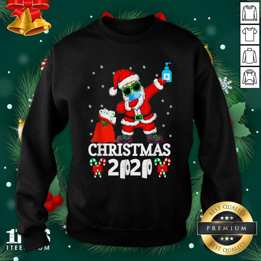 Cool Santa Dabbing Christmas 2020 Sweatshirt - Design By 1tee.com