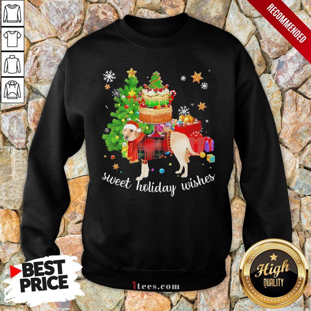 Funny Golden Santa sweet holiday wishes Christmas 2020 Sweatshirt Design By T-shirtbear.com