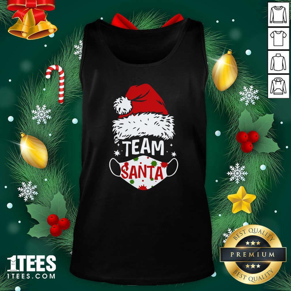 Team Santa Face Mask Christmas 2020 Cost Tank Top- Design By 1Tees.comGood Team Santa Face Mask Christmas 2020 Cost Tank Top