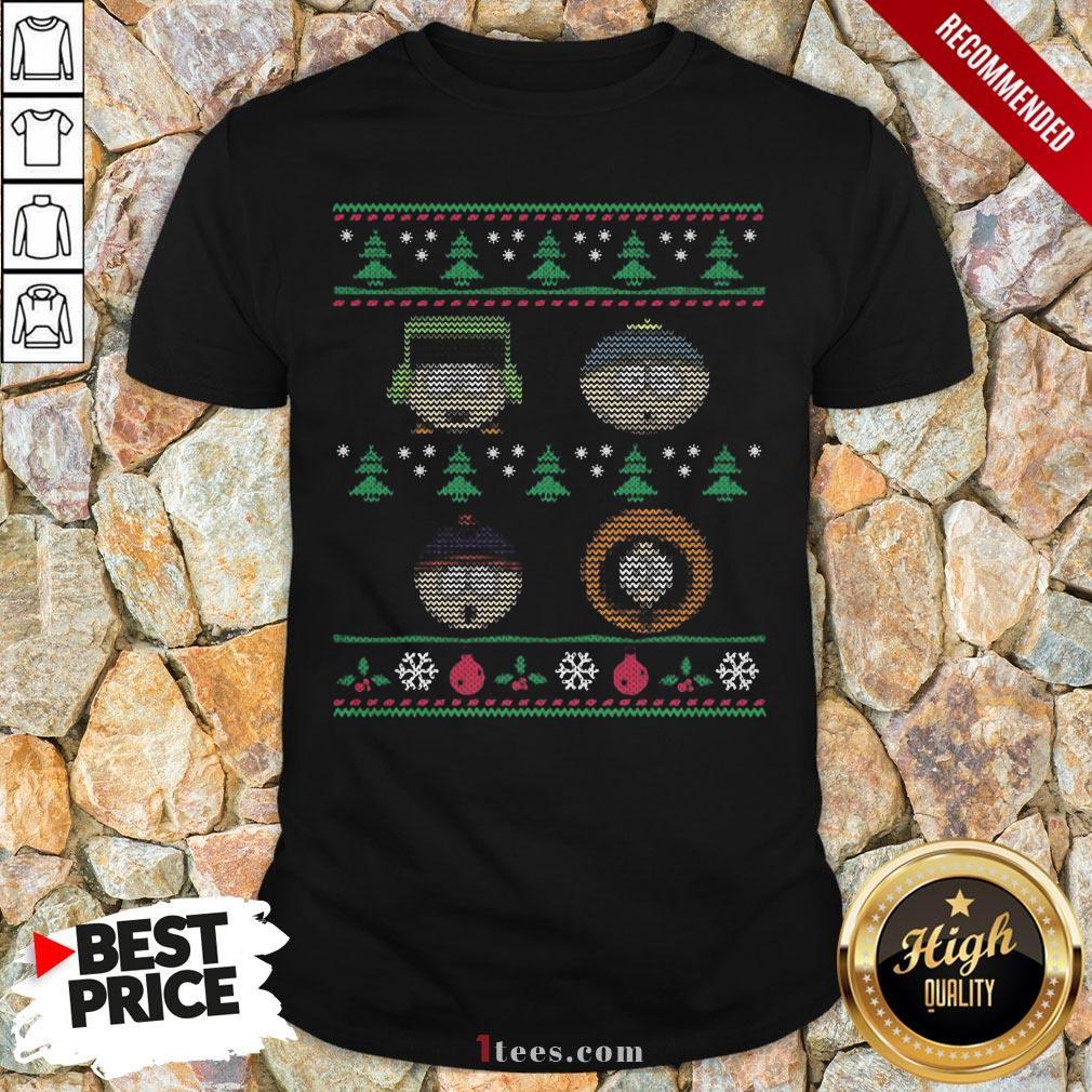 Nice South Park Ugly Christmas V-neck Design By T-shirtbear.com