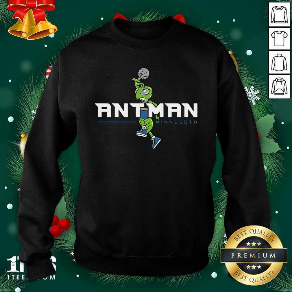 Ant Man Minnesota Basketball Sweatshirt - Design By 1tees.com