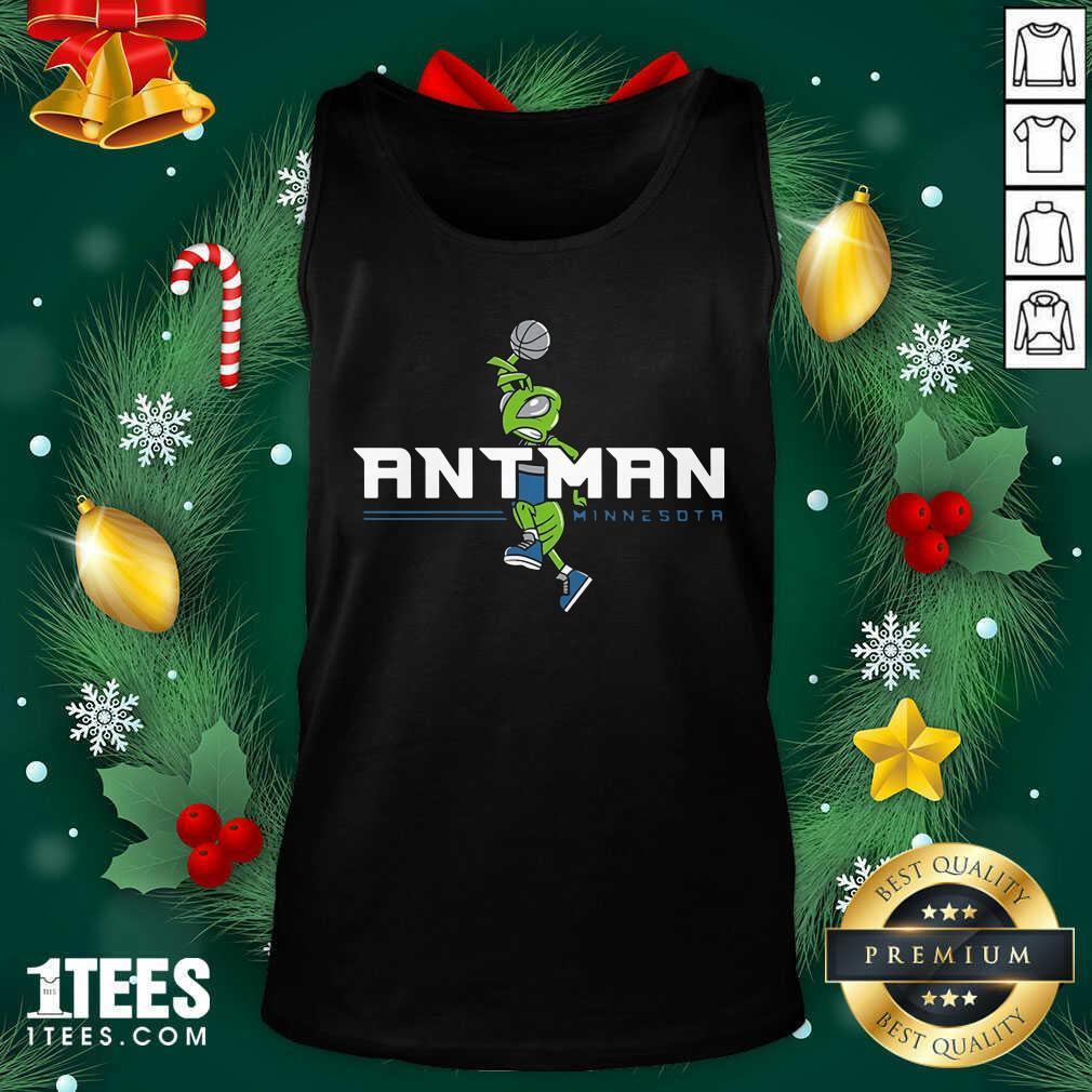 Ant Man Minnesota Basketball Tank Top - Design By 1tees.com