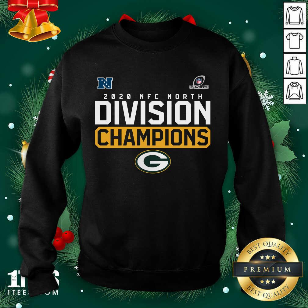 2020 NFC North Division Champion Green Bay Packers Sweatshirt- Design By 1tees.com