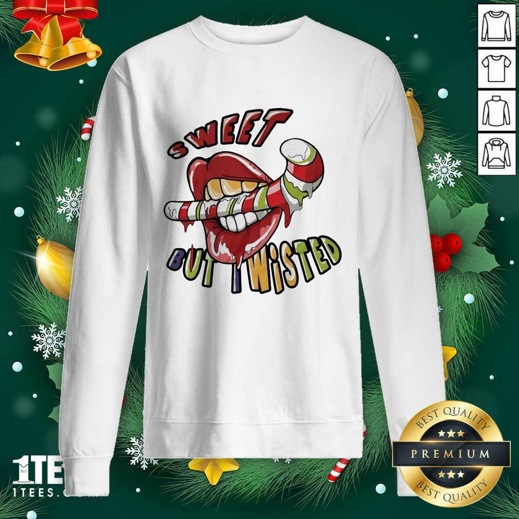 Mouth Sweeat But Wisted Sweatshirt- Design By 1tees.com