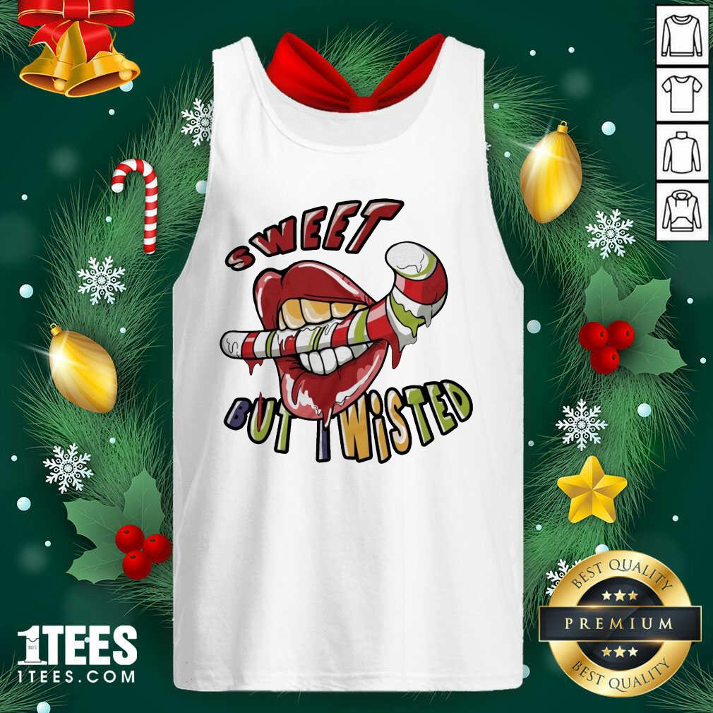 Mouth Sweeat But Wisted Tank Top- Design By 1Tees.com