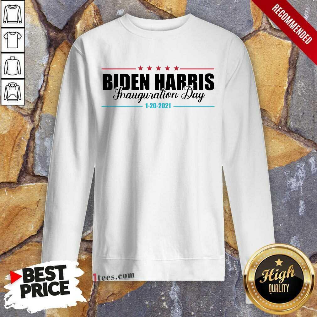 Biden Harris Inauguration Day 1 20 2021 Sweatshirt- Design By 1Tees.com