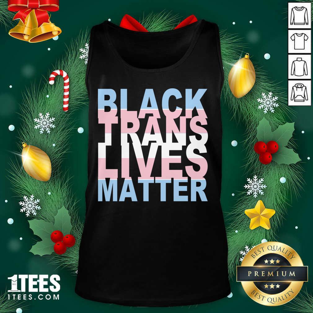 Black Trans Lives Matter Tank Top- Design By 1Tees.com