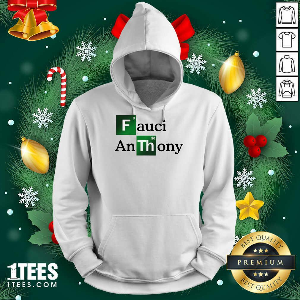 Fauci Anthony We Trust In Science Chemistry Wear A Mask Not Morons Hoodie- Design By 1tees.com