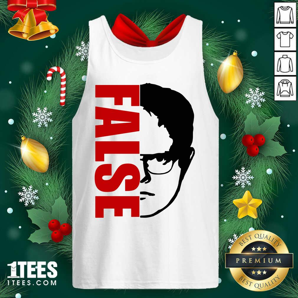 The Office Dwight Schrute False Tank Top- Design By 1Tees.com