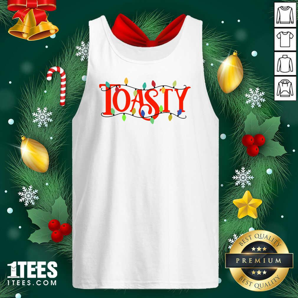 The Morning Toast Merch Hooded Ugly Christmas Tank Top- Design By 1Tees.com