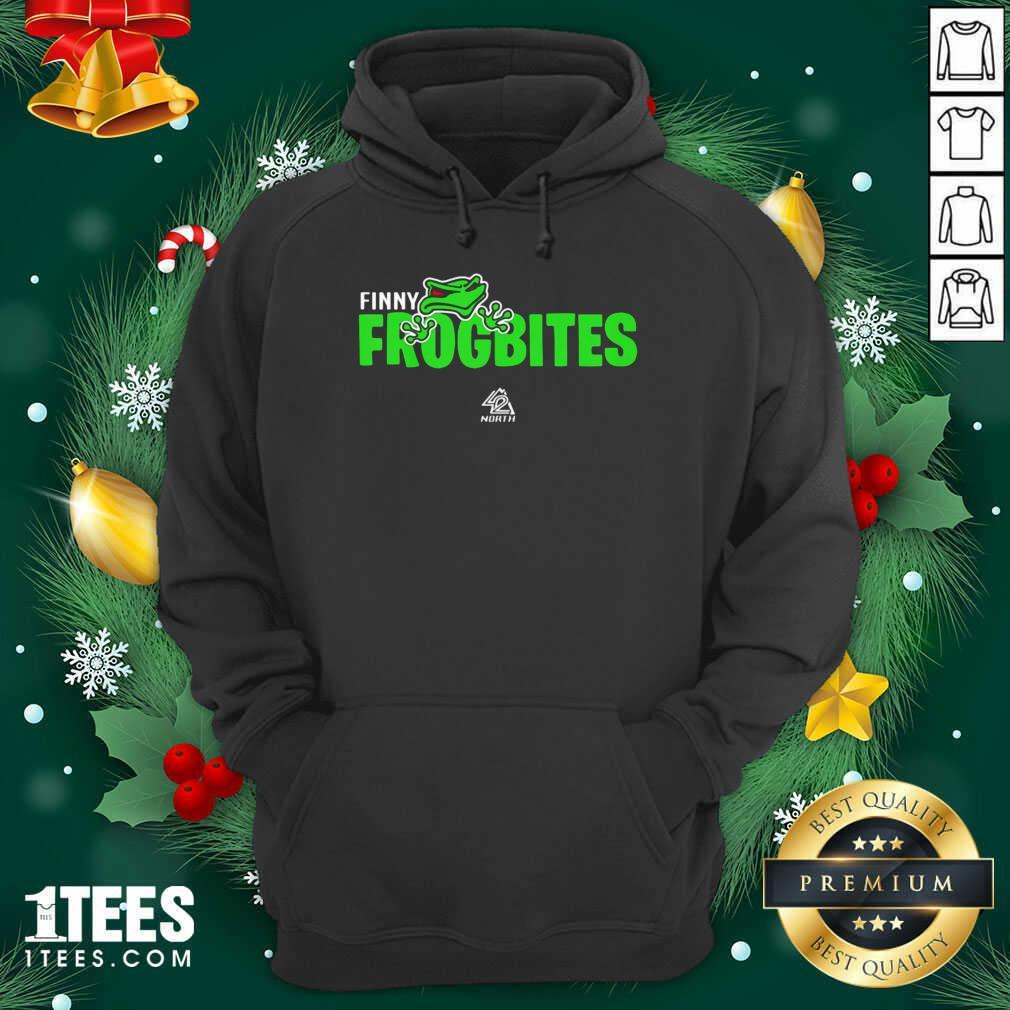 42 North Finny Frogbites Gamer Hoodie- Design By 1Tees.com