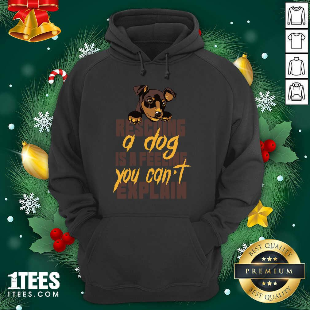 Animal Rescue Dog Rescue Hoodie- Design By 1Tees.com