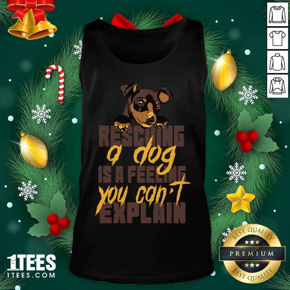 Animal Rescue Dog Rescue Tank Top- Design By 1Tees.com