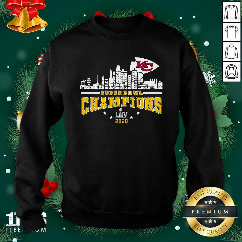 Super Bowl Champions 2020 Name Sweatshirt- Design By 1Tees.com