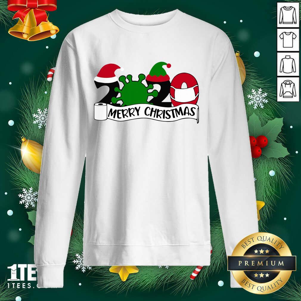 Merry Christmas 2020 Sweatshirt- Design By 1Tees.com