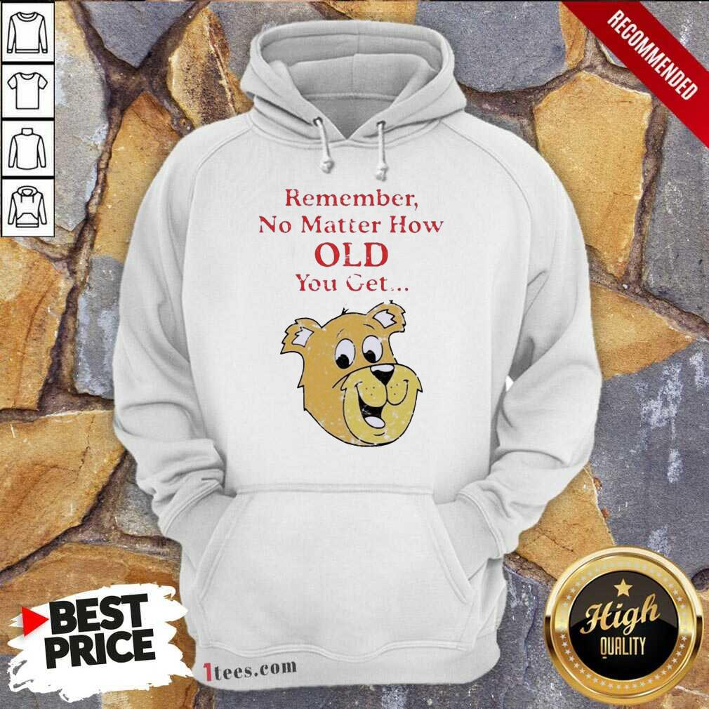 Scooby Doo Remember No Matter How Old You Get Hoodie