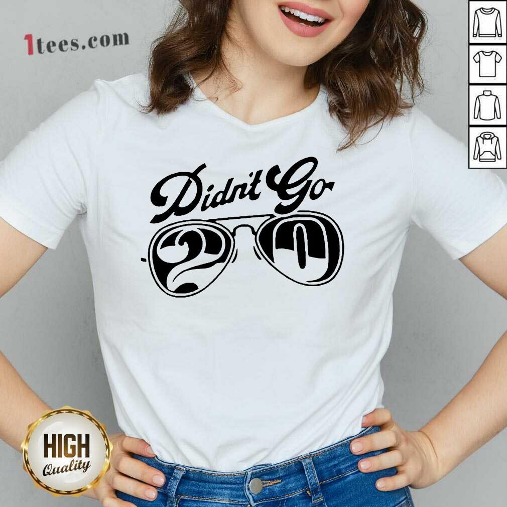 Rut Daniels Didnt go 20 V-neck