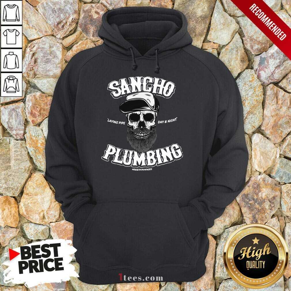 Sancho Plumbing Co Hoodie