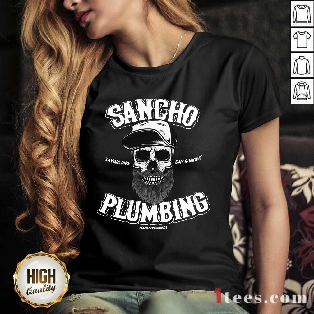 Sancho Plumbing Co V-neck