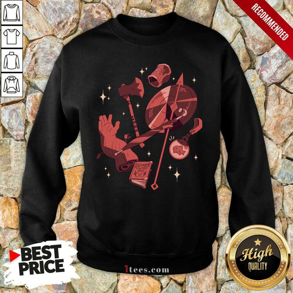 =Mcelroy Merch Tres Horny Sweatshirt- Design By 1Tees.com