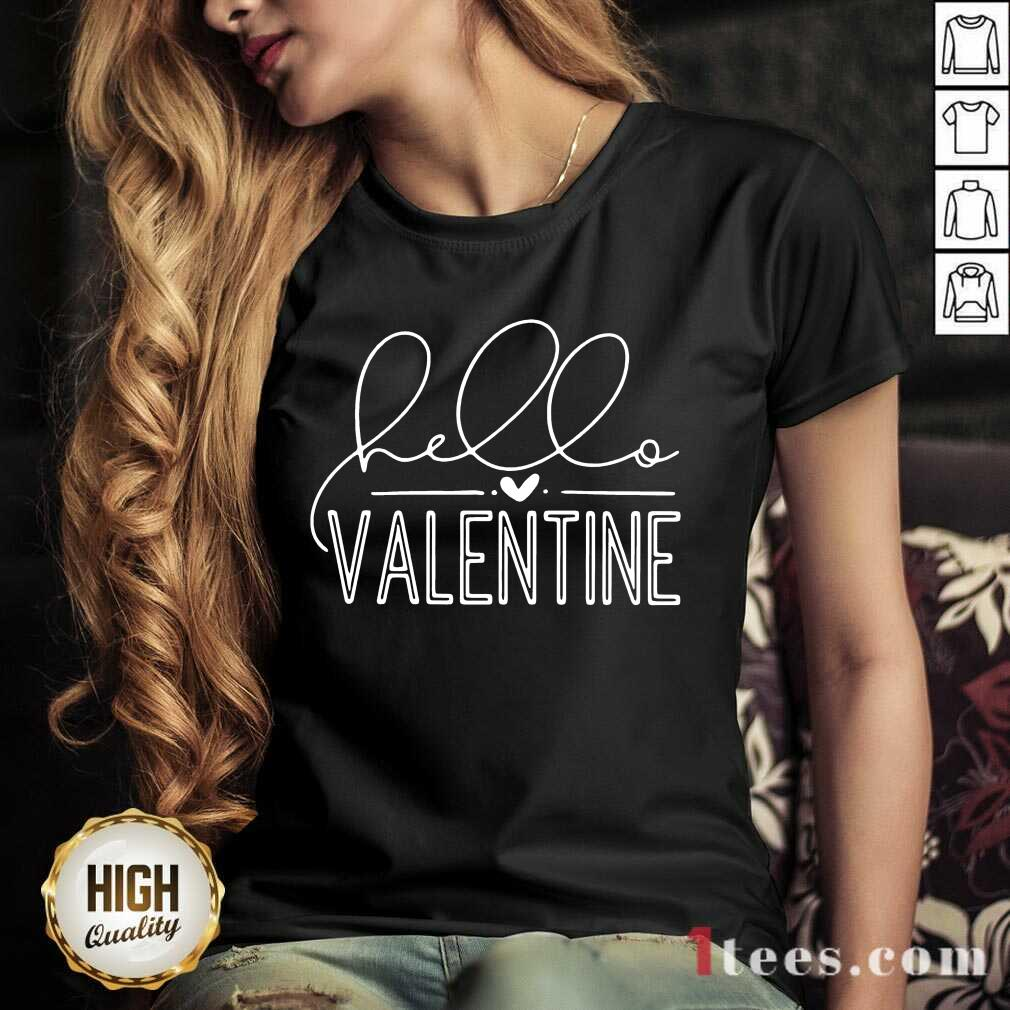 Valentine 2021 V-neck- Design By 1tees.com