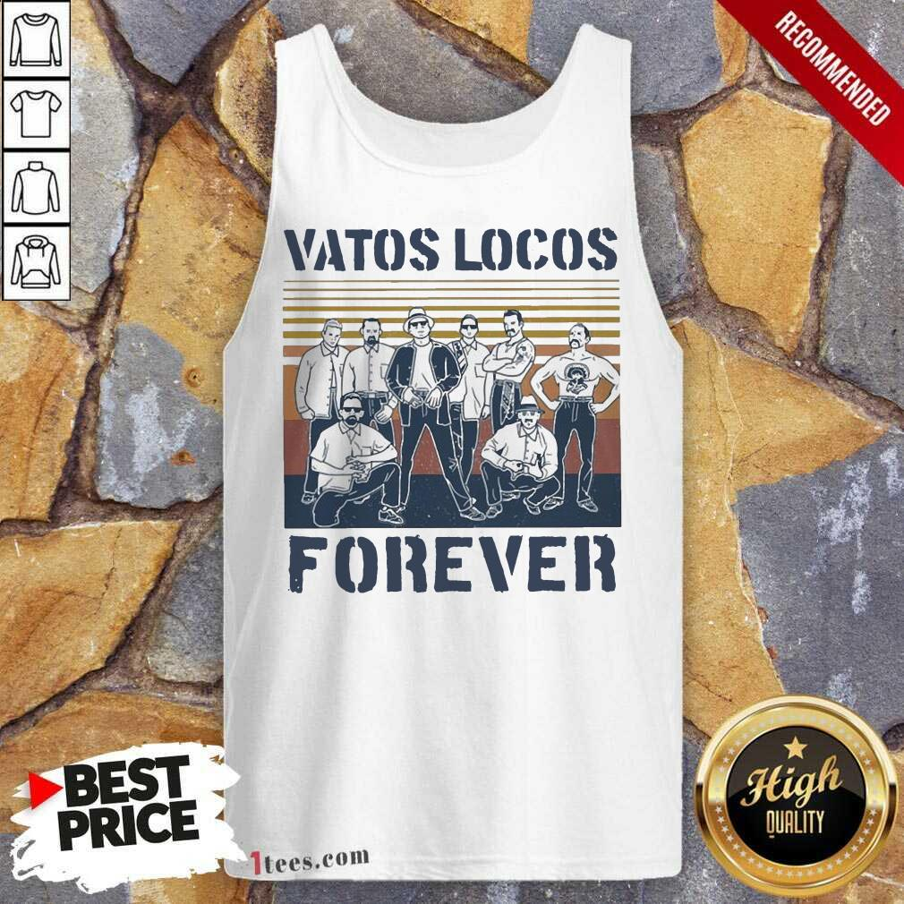 Blood In Blood Out Vatos Locos Forever Vintage Tank Top- Design By 1tees.com