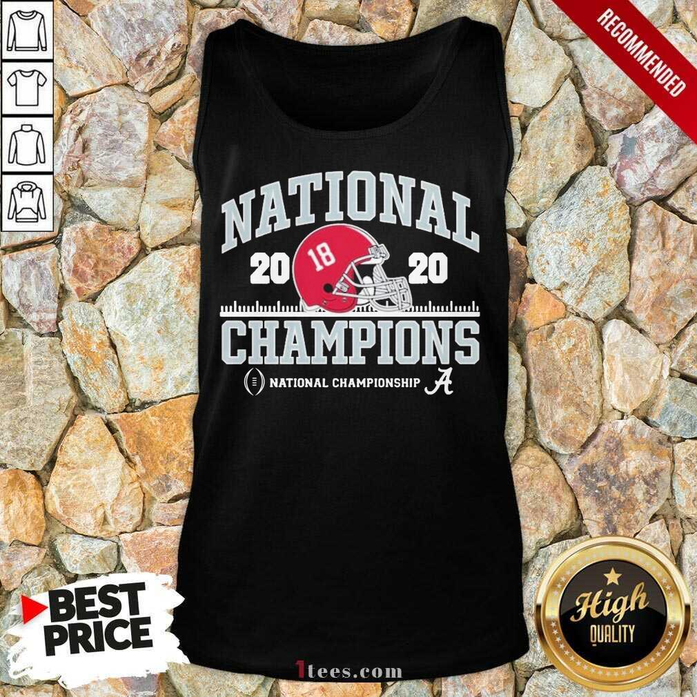 Alabama National Championship 2021 Tank Top