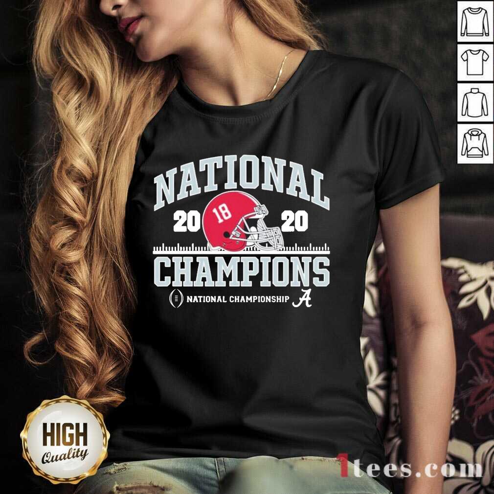 Alabama National Championship 2021 V-neck