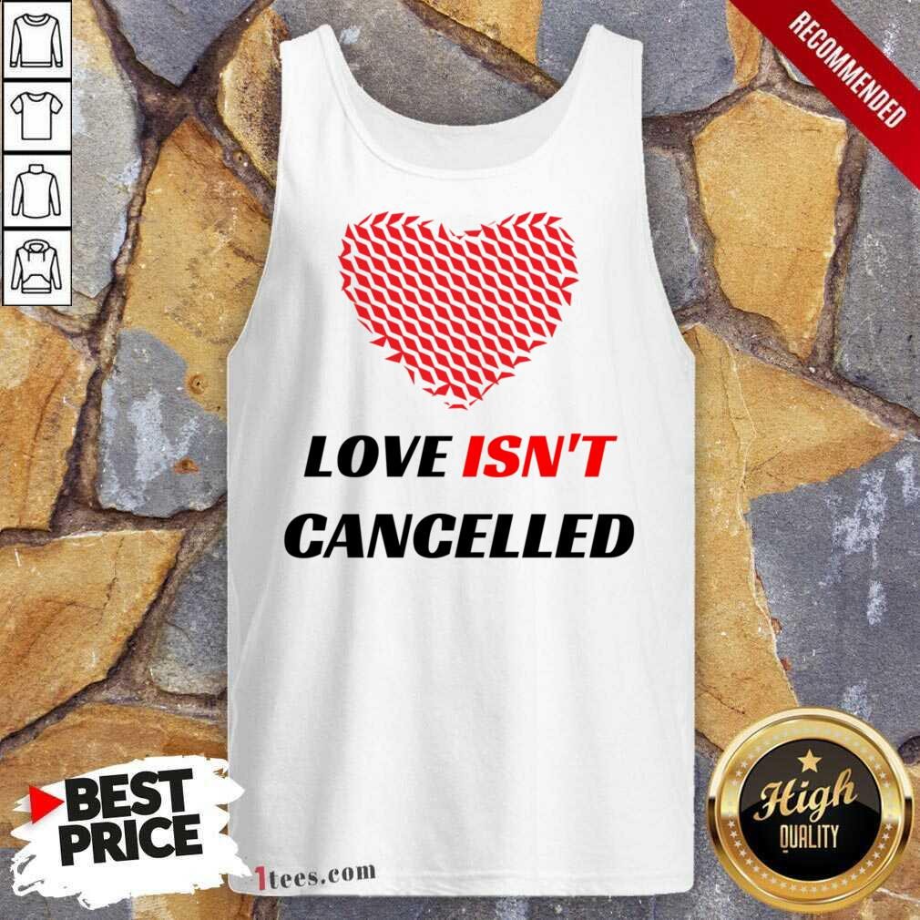 Love Isnt Cancelled Classic Tank Top-Design By 1Tees.com