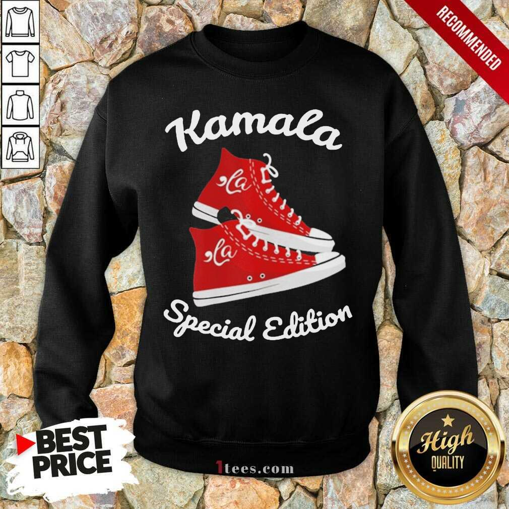 Comma La Kamala Harris Sneakers Sweatshirt