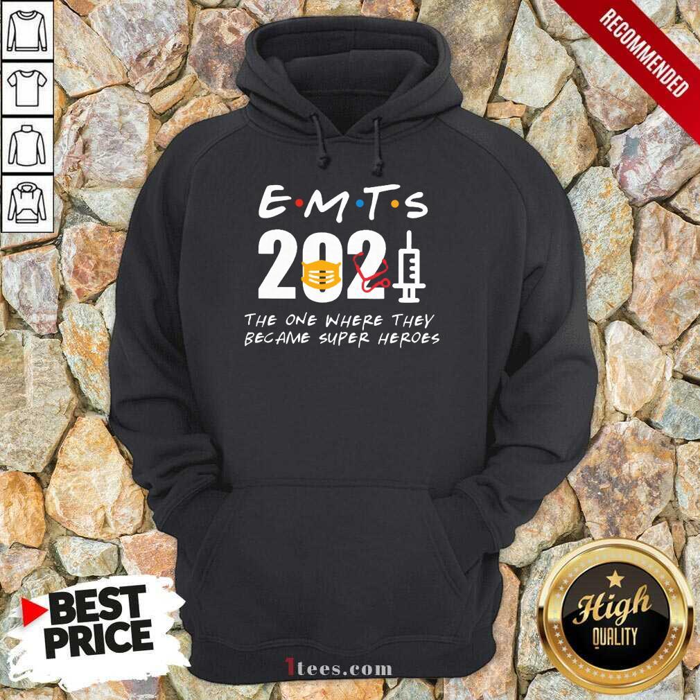 Enthusiastic EMTs 2021 SuperHeroes Hoodie