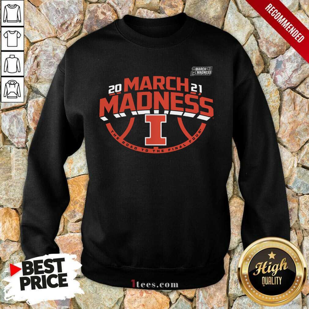 Enthusiastic Illinois Fighting 2021 March Sweatshirt