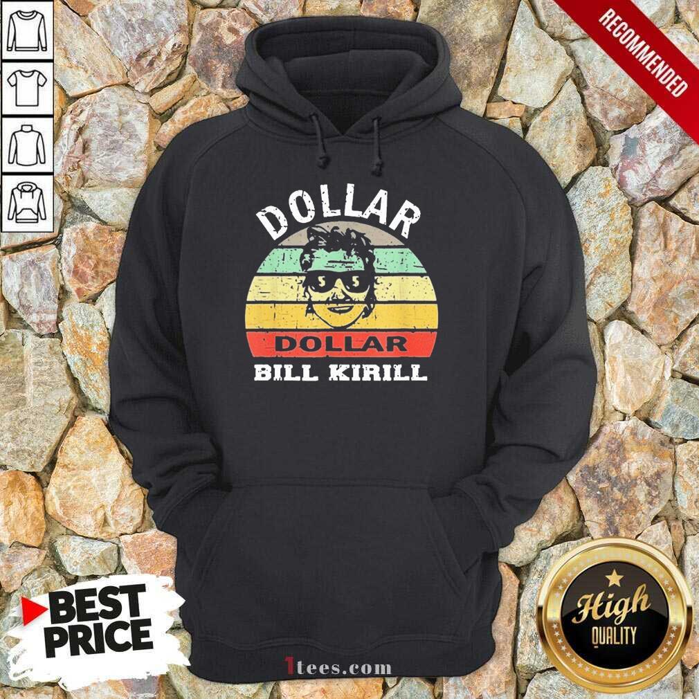 Excited Dollar Bill Kirill Vintage Hoodie