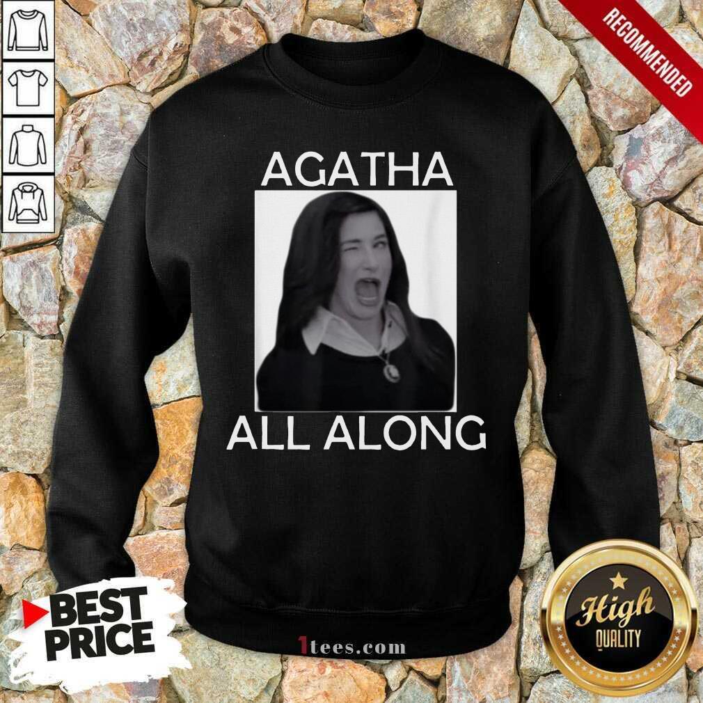 Funny Agatha All Along Marvel Confident 1 Sweatshirt
