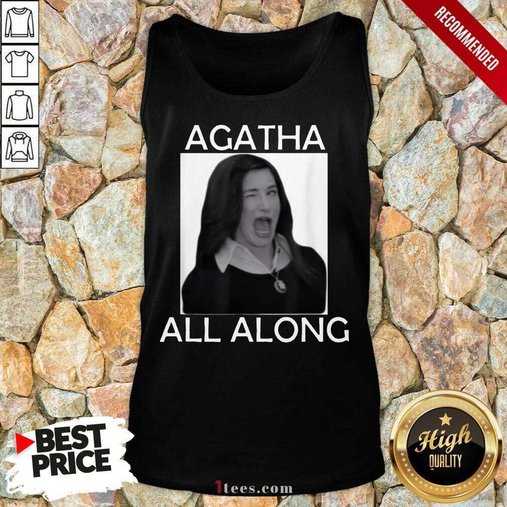 Funny Agatha All Along Marvel Confident 1 Tank Top