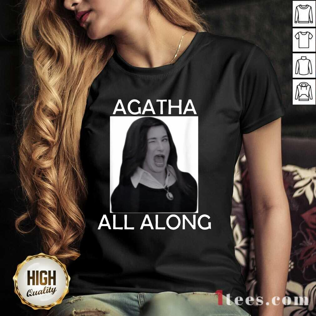 Funny Agatha All Along Marvel Confident 1 V-neck