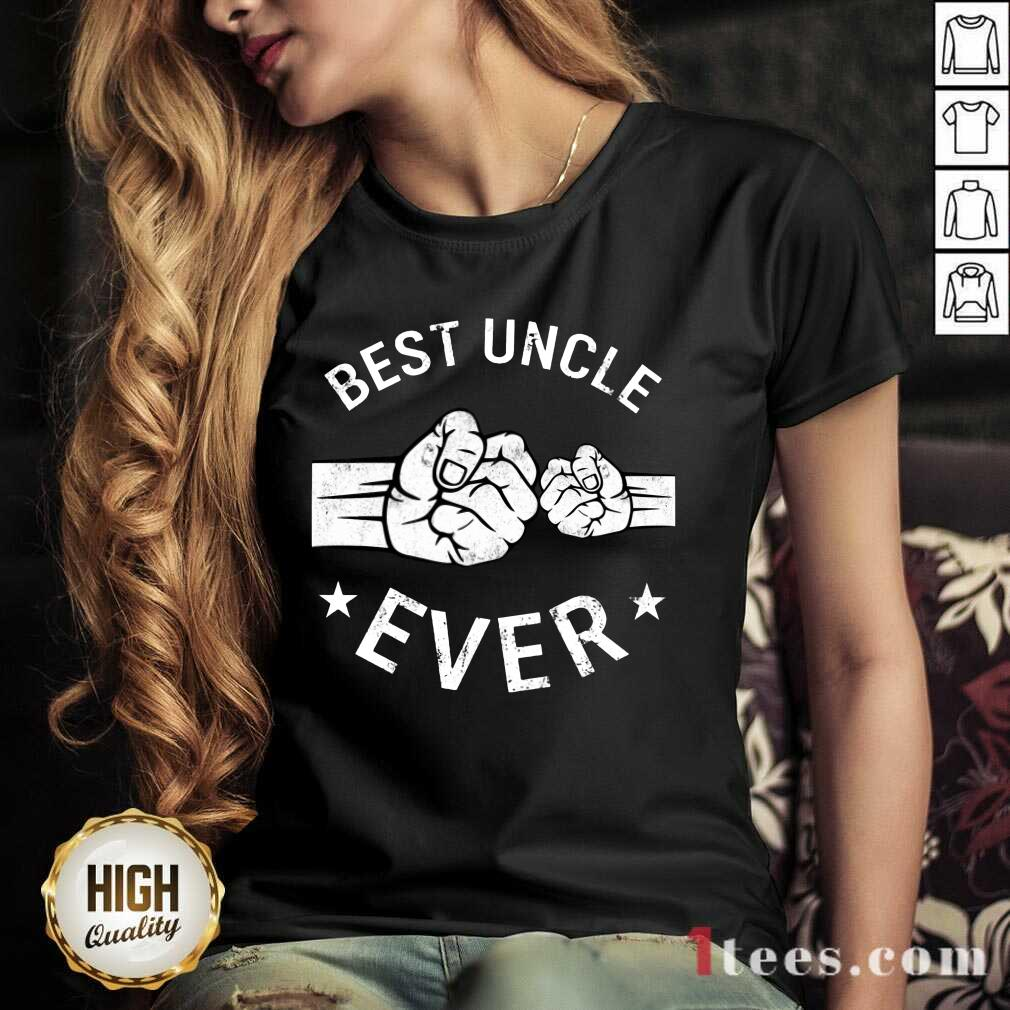 Nonplussed Best Uncle Ever V-neck