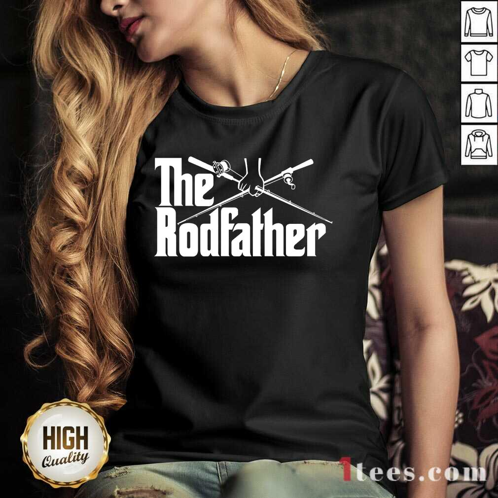 Surprised The Rodfather Fishing 2021 V-neck