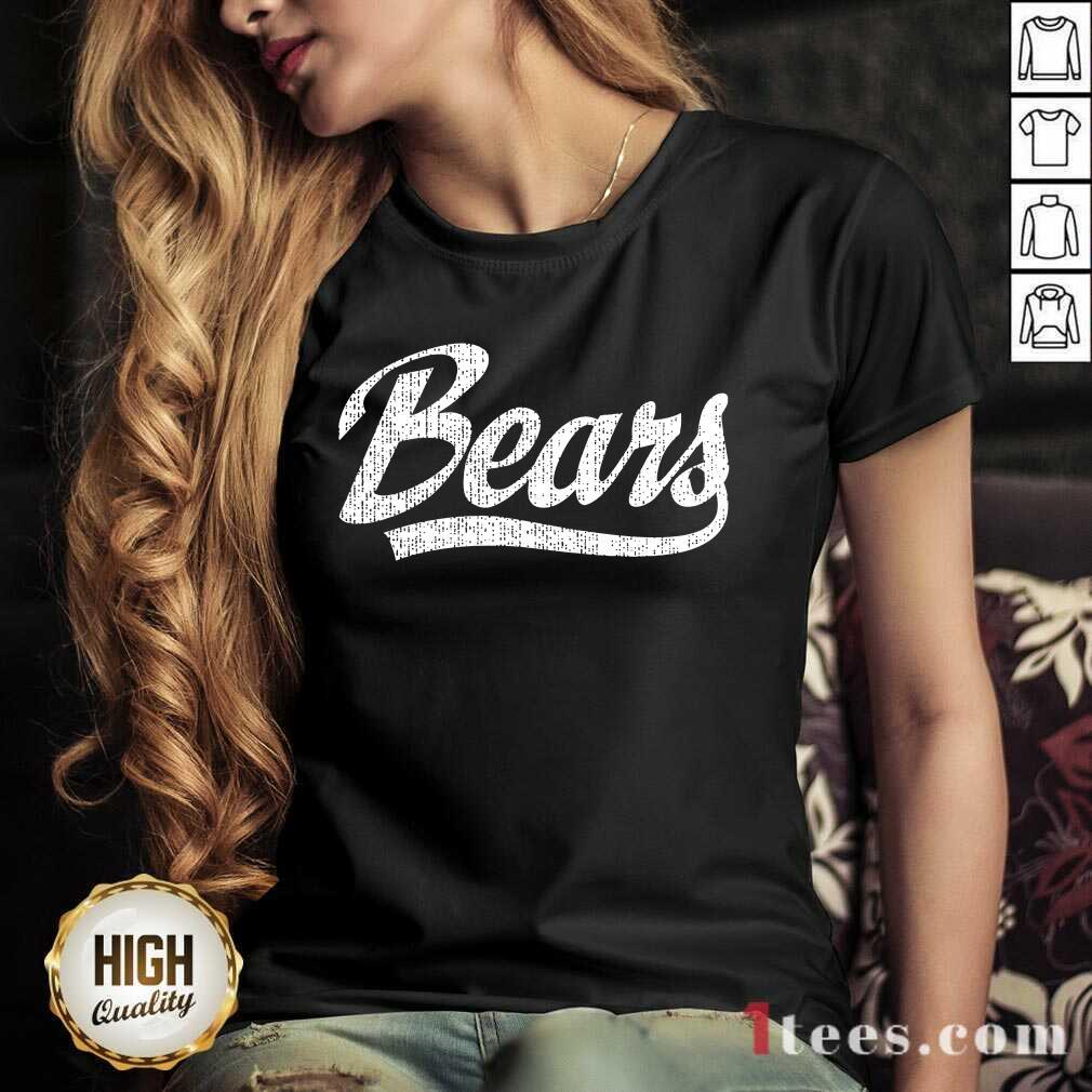 Bears V-neck