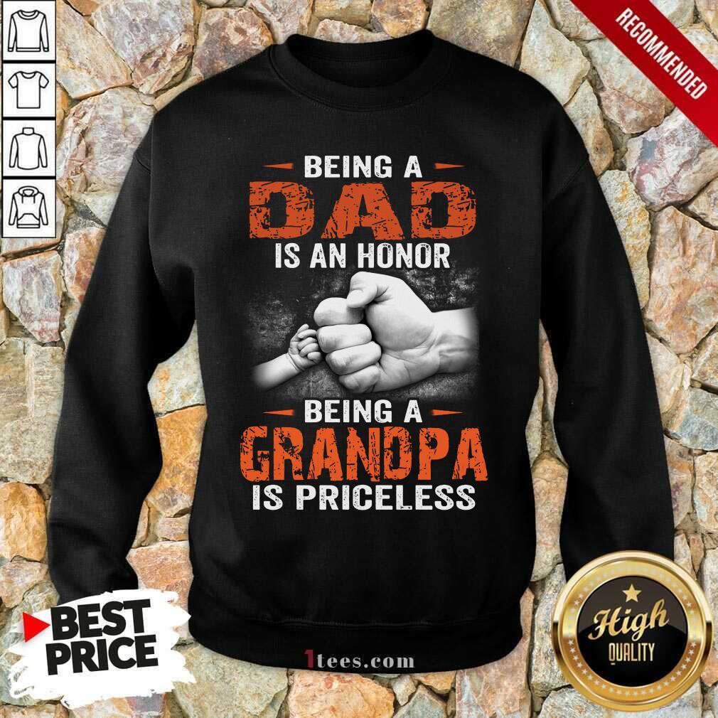 Being A Grandpa Sweatshirt