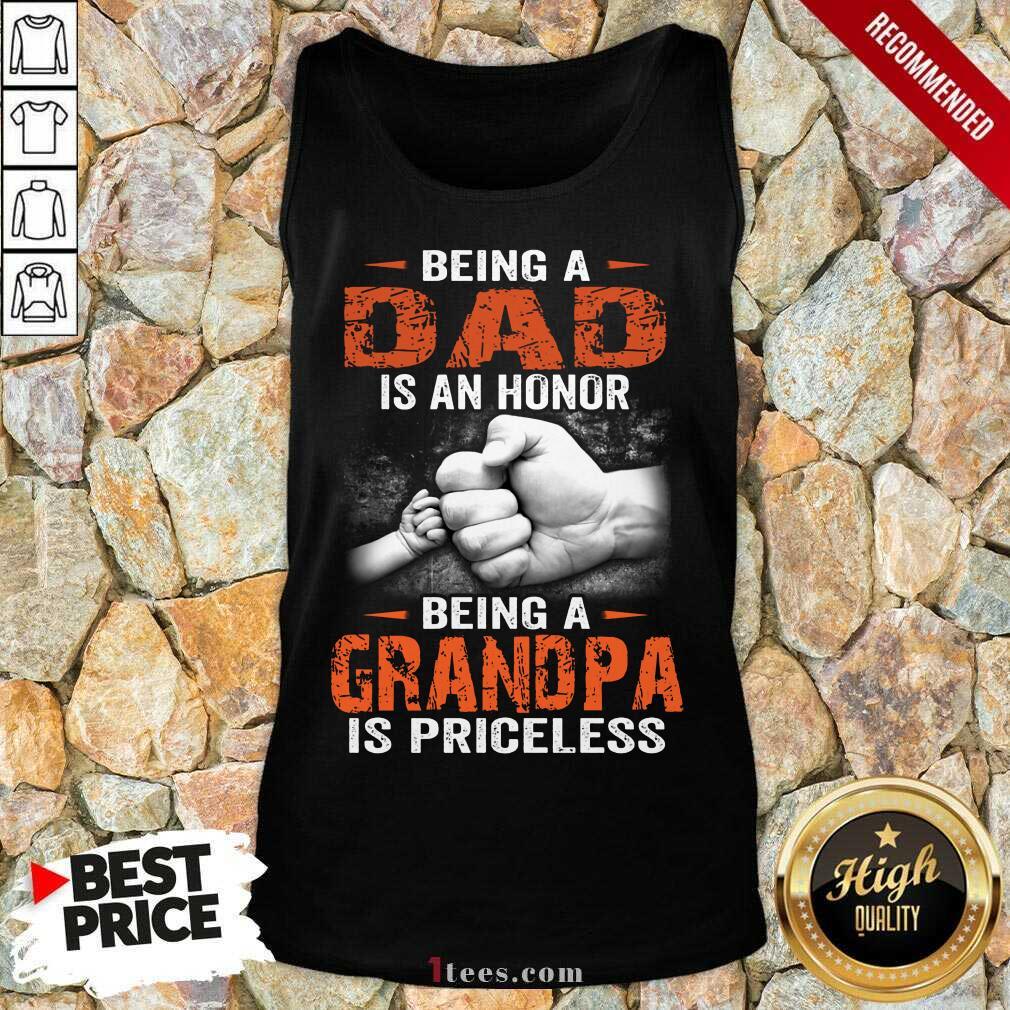 Being A Grandpa Tank Top