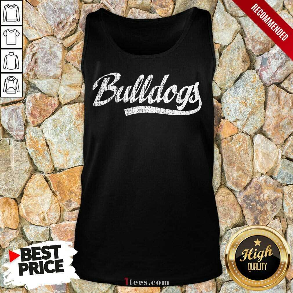 Bulldogs Tank Top