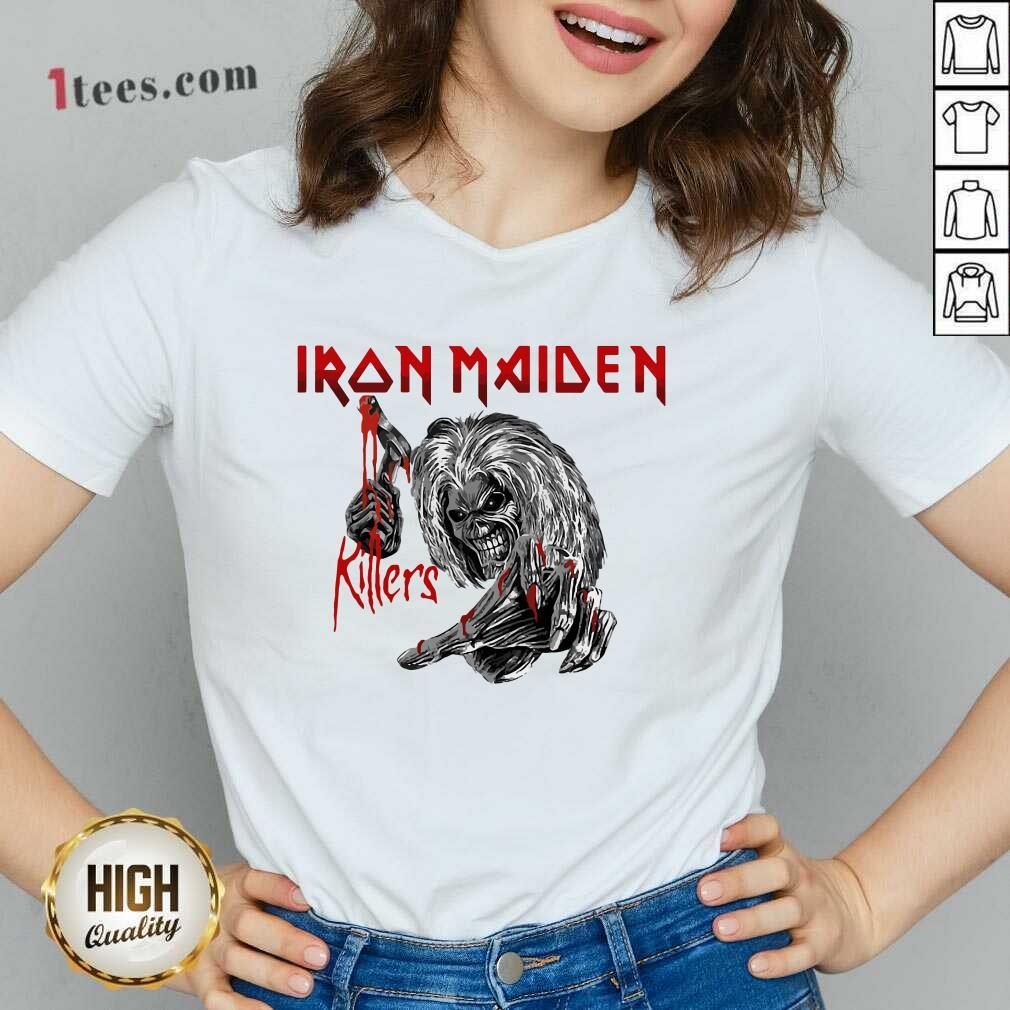 Iron Maiden Killers V-neck