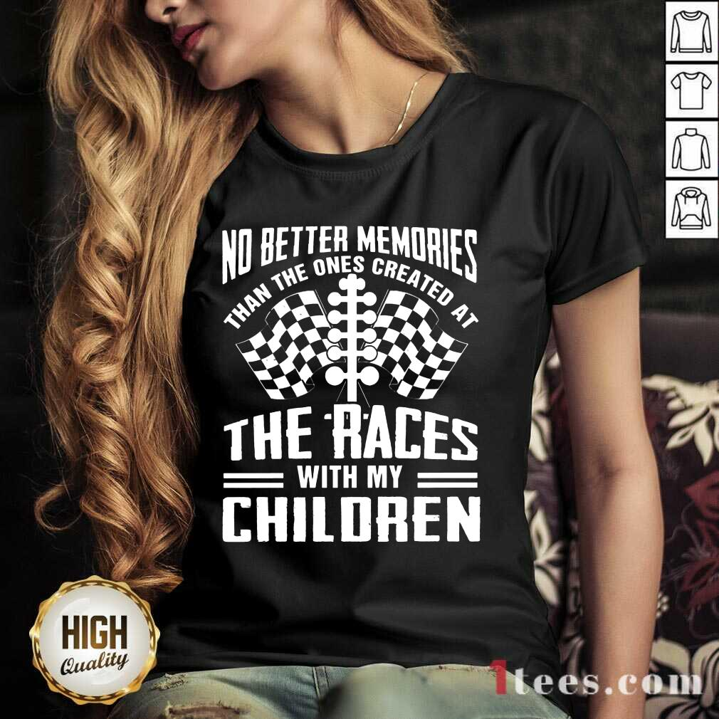 Memories The Races With My Children V-neck