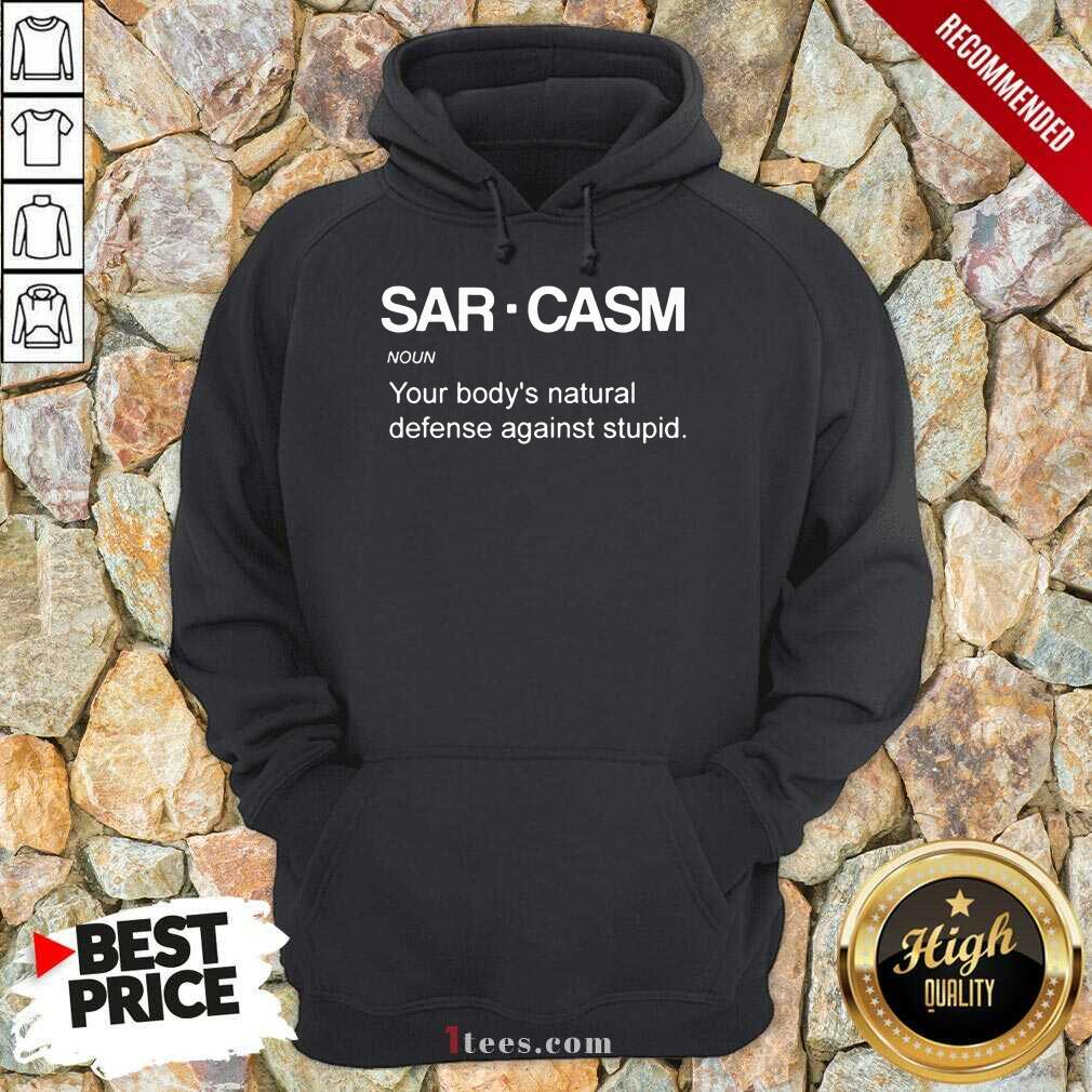 Sarcasm Noun Hoodie