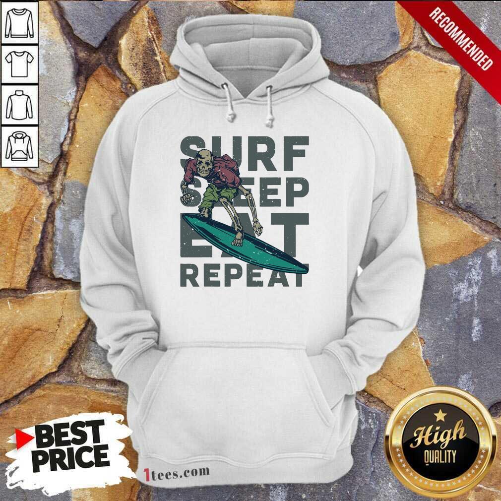 Surf Sleep Eat Repeat Hoodie