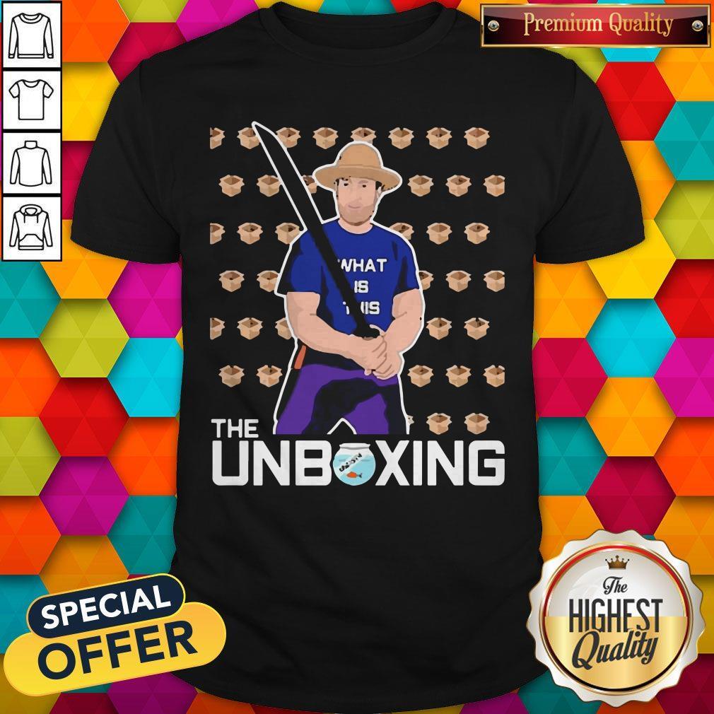 Nice Barstool Sport The Unboxing David Portnoy Shirt