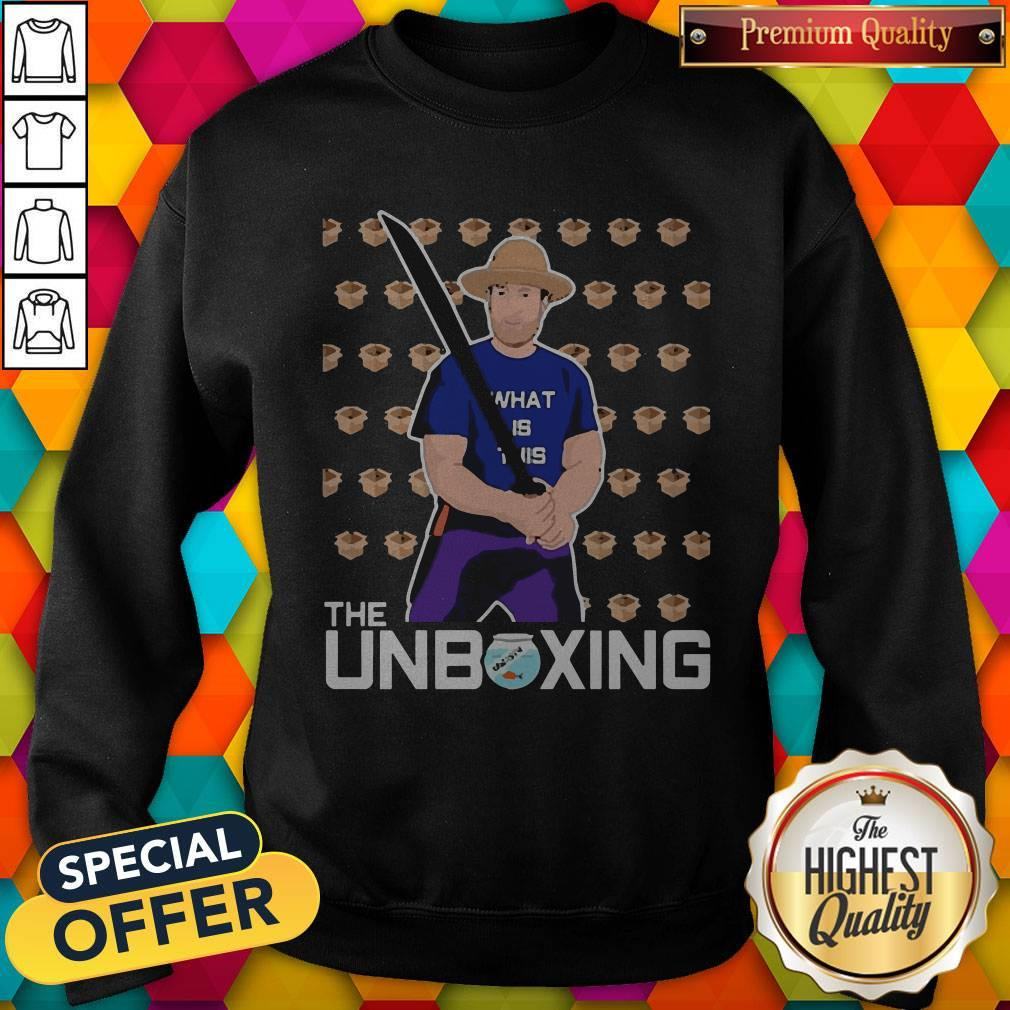 Nice Barstool Sport The Unboxing David Portnoy Sweatshirt